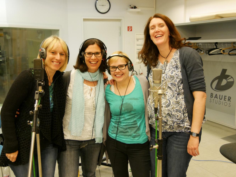 Sopran 2: Sandra, Claudi, Annika und Silke