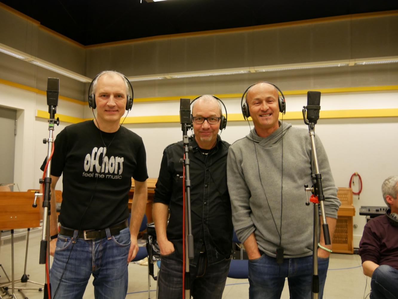 Die Tenöre: Detlef, Markus und Jac