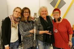 Dagmar, Conny, Rosi und Birgit